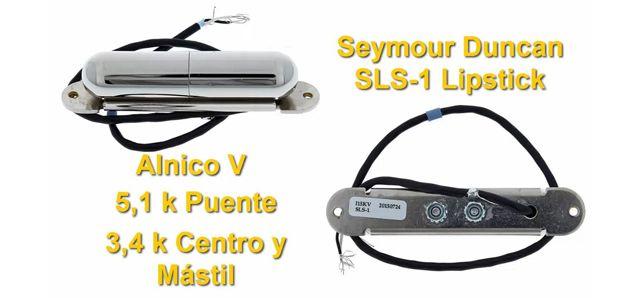 Pastilla de Guitarra Barra de Labios Seymour Duncan Lipstick SLS-1