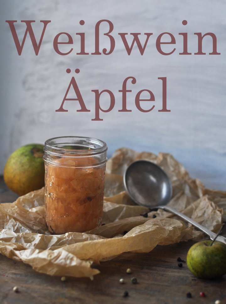 #preserved, #spicy #apples with white wine, a delicious way to enjoy summer in winter