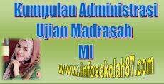 Kumpulan Administrasi Ujian Madrasah (UM) MI