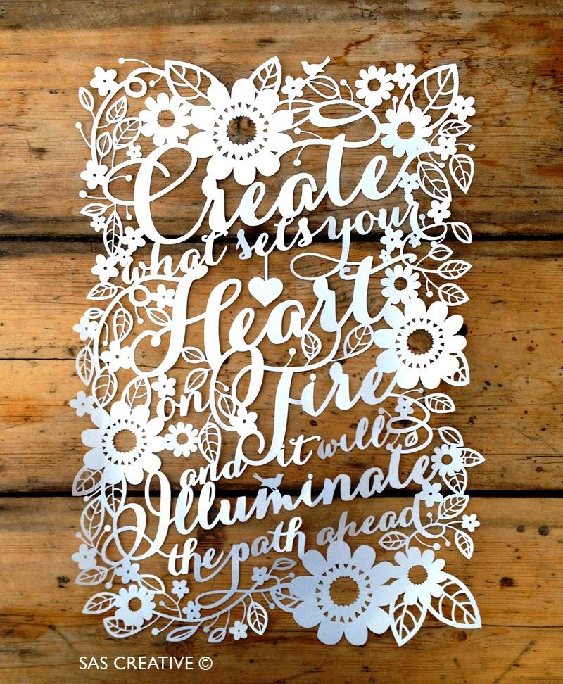 Sas Creative New Papercut Designs For 2014