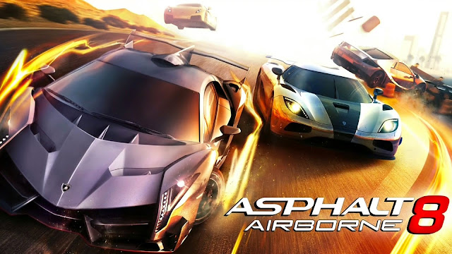 تحميل لعبة اسفلت للاندوريد كاملة Asphalt 8 Airborne