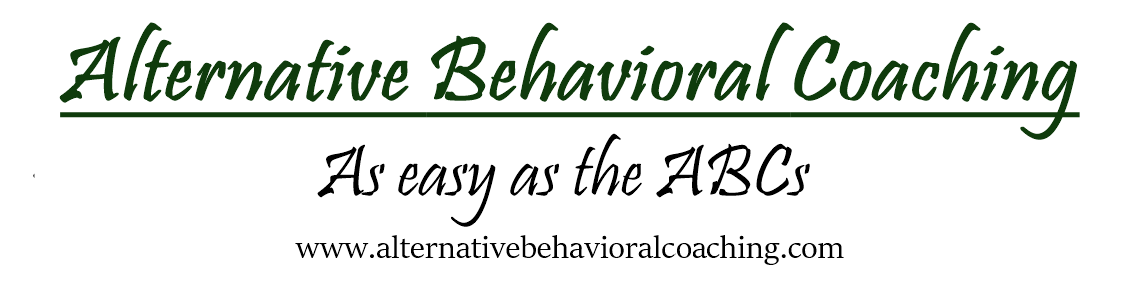 ABC's, Alternative Behavioral Coaching a Life Coaching blog.