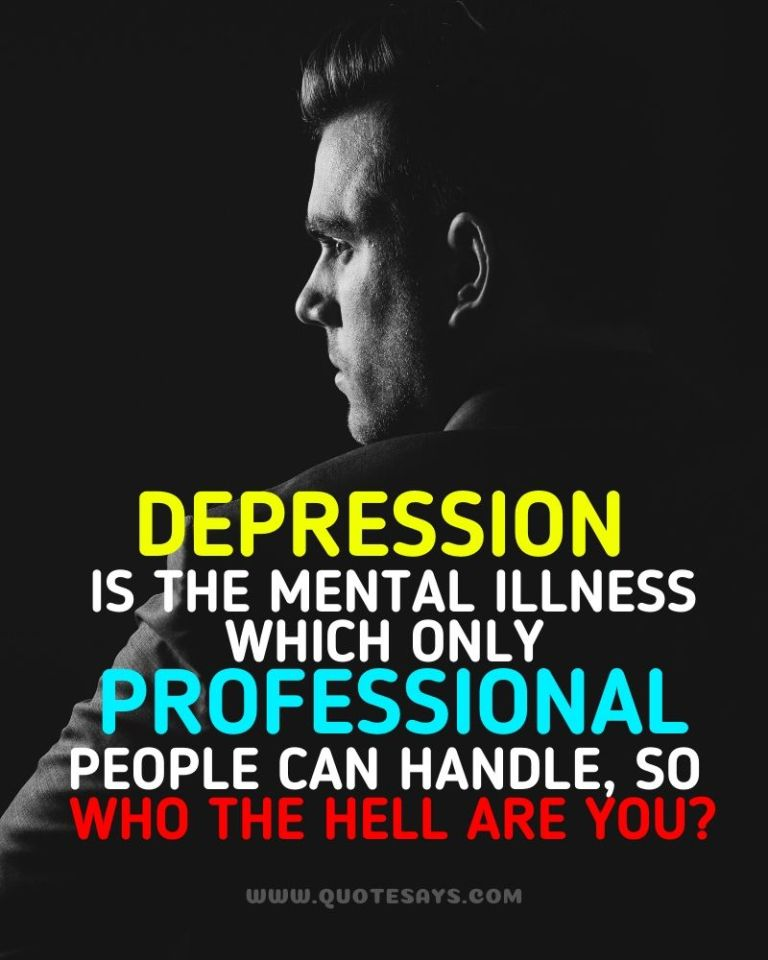 Inspirational Quotes for Depression, Depression Quotes