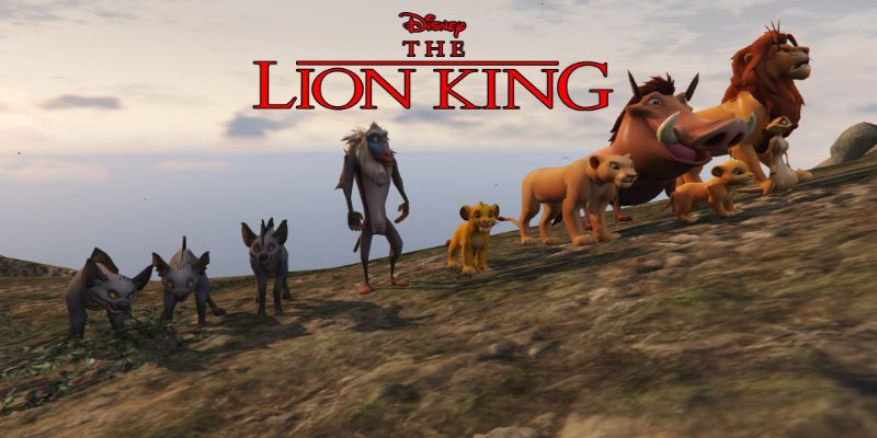 The Lion King stars in one of the best mods of GTA V