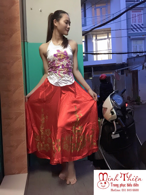 cho thuê trang phục váy yếm hcm