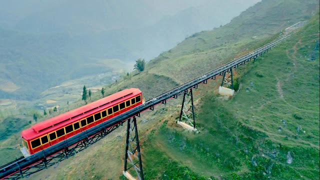 From March 31, 2018, Sapa has the most modern mountain railway in Vietnam 5