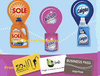 Logo Bucato perfetto in 3 Mosse: con Calgon, Vanish e Sole vinci 200 Card da 50€