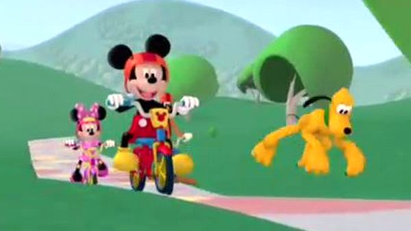 MICKEY MOUSE: In a place full of fun