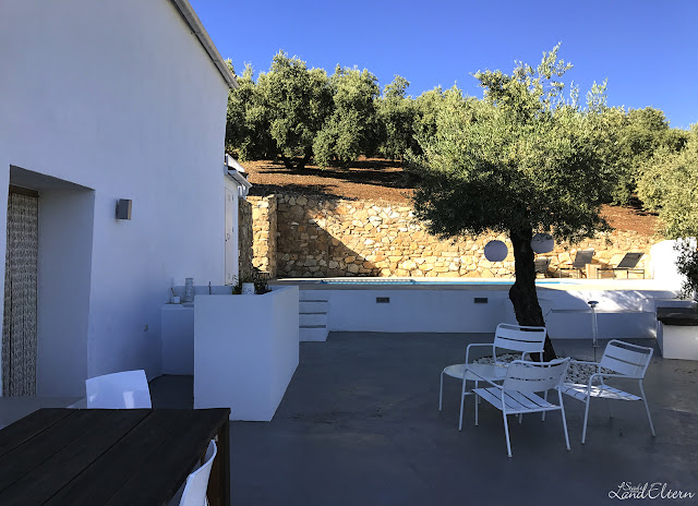 Urlaub mit Kindern - Andalusien - Spanien - Haus in Olivenplantage - Terrasse