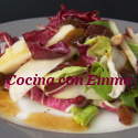 Ensalada vegetal con fruta