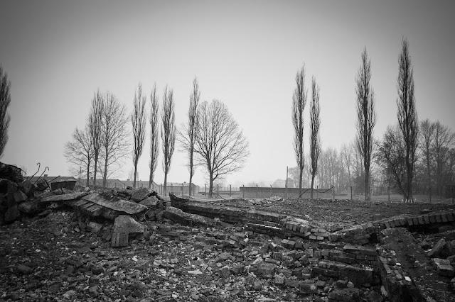Forno crematorio del campo di concentramento di Birkenau