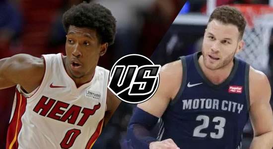 Live Streaming List: Miami Heat vs Detroit Pistons 2018-2019 NBA Season