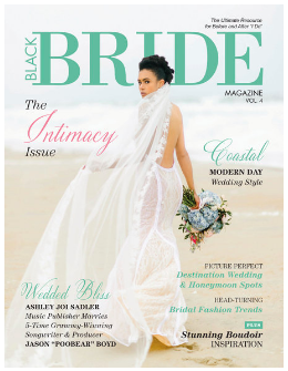 Liz and Lex Events in Black Bride Magazine
