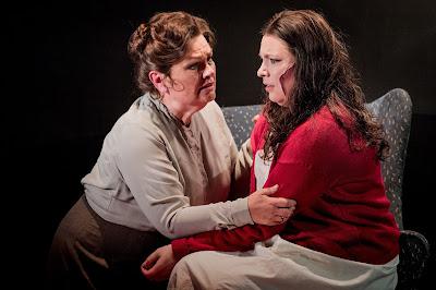 Susan Bullock, Natalya Romaniw - Janacek: Jenufa - Grange Park Opera (Photo Robert Workman)