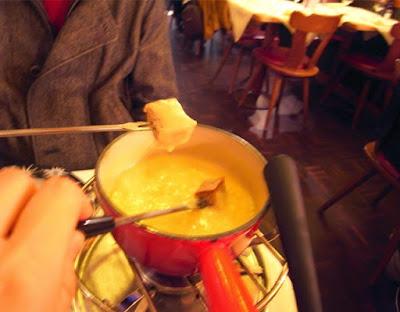 蜜月瑞士自由行,兩人小鍋份量剛剛好