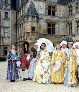 Castelo de Fontaine-Henry: reencenação histórica