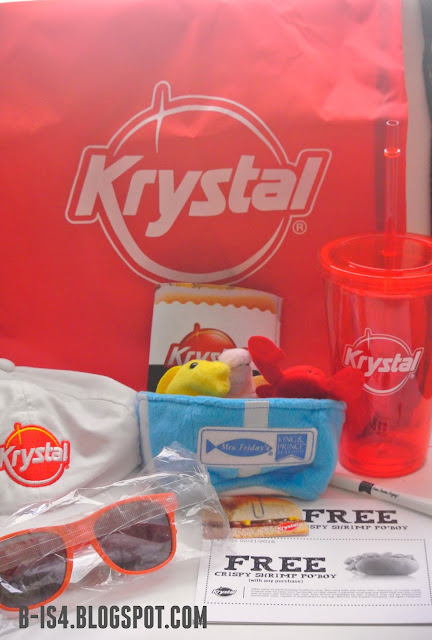 Krystal Prize Pack, Vacation Giveaway