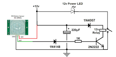 DC motion switch without using arduino