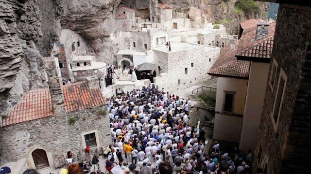 Η Τουρκία απαγορεύει την τέλεση λειτουργίας στην Παναγία Σουμελά Τραπεζούντας στις 15 Αυγούστου