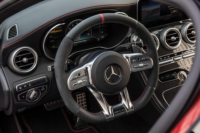Novo Mercedes-Benz Classe C 2019 - painel