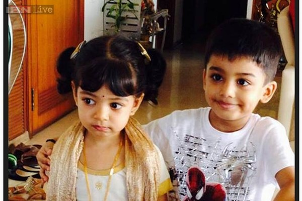Aradhya Bachchan with Cousin Vihaan