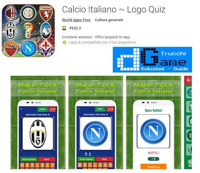 Soluzioni Calcio Italiano - Logo Quiz