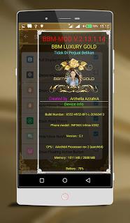 BBM LUXURY GOLD V2.13.1.14