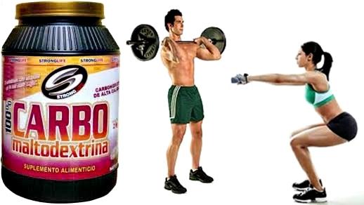 Maltodextrina pesas deportes hombre mujer