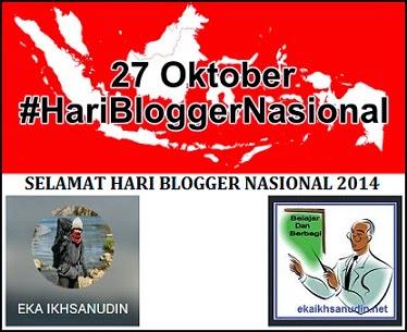 SELAMAT HARI BLOGGER NASIONAL 2014