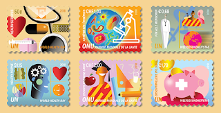 world healtb day 2018 stamps