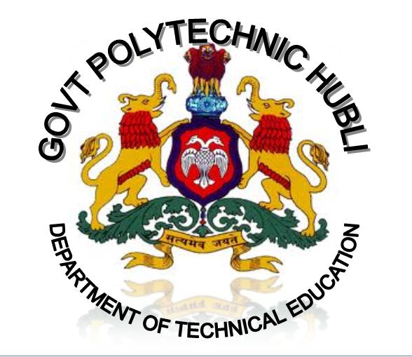 Government Polytechnic College Adoor Posts: Study Engineering: GOVT POLYTECHNIC VIDYANAGAR HUBLI-580021