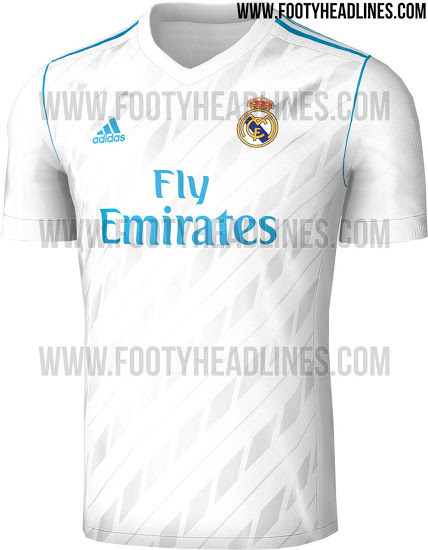 pretty nice a8cef 28817 FTH: Real Madrid 17-18 Home, Away And Third Kits Leaked