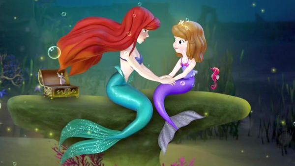 PRINCESS ARIEL: You tried to save your mermaid friend but found it hard to do