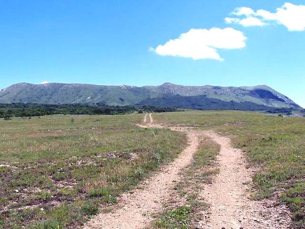 На нижнем плато Чатырдага