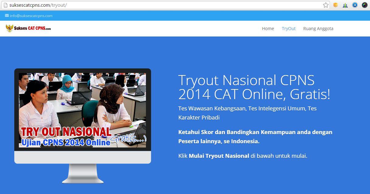 5 Situs Penyedia Layanan Simulasi Cat Cpns Gratis Pak Pandani Belajar Dan Berbagi