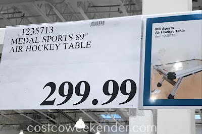 Deal for the MD Sports 89in Air Hockey Table at Costco