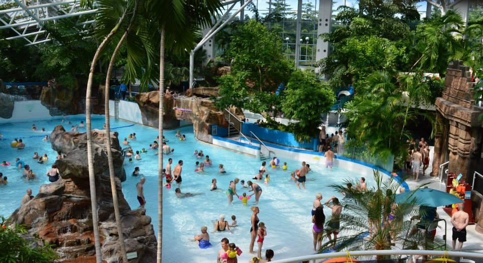 10 ways to save money at Center Parcs  - swimming pool