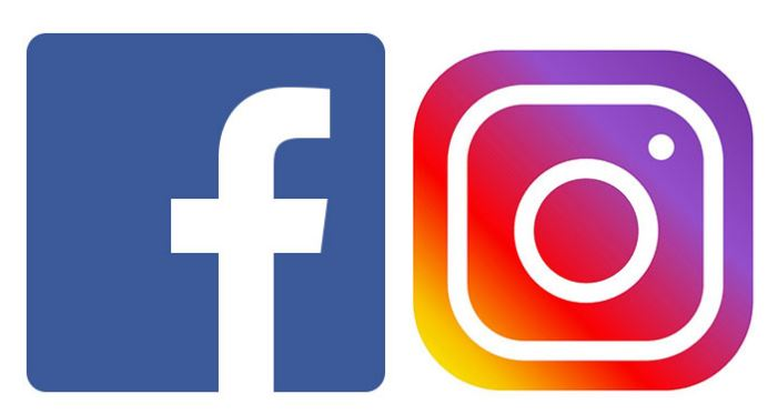 logo instagram facebook