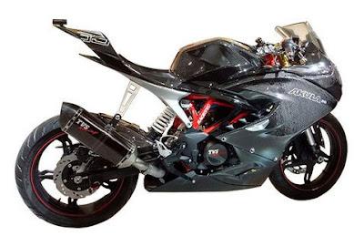 cool bike tvs akula