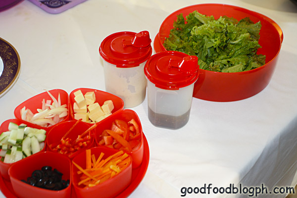 Salad+Bar - Kitchen Discovery Class by Tupperware and CCA - Part 1