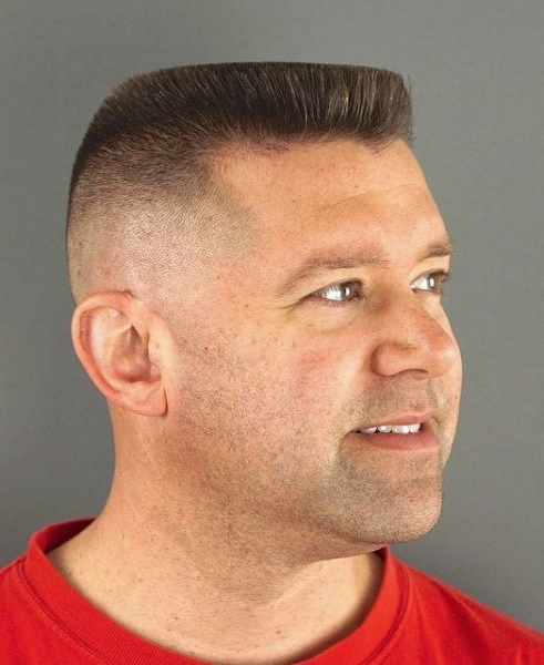 Flattop Army Haircut