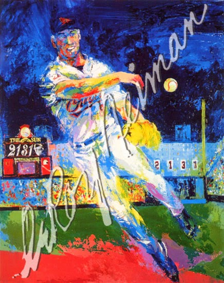 leroy neiman sport paintings cal ripken