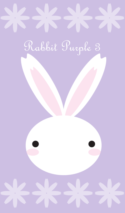 Rabbit Purple 3