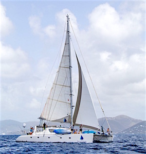 Sail Secret Oasis Catamaran