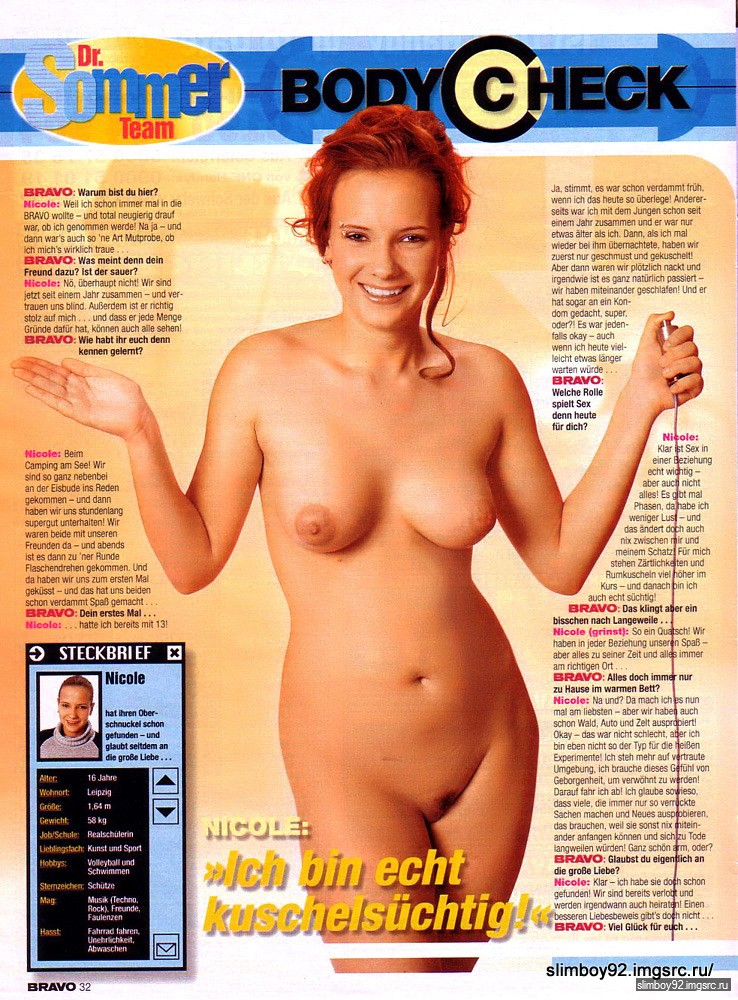German Bravo Magazine Nude 27