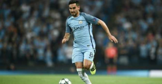 play Manchester City's German midfielder Ilkay Gundogan pictured during their Champions League group C match against Borussia Monchengladbach at the Etihad stadium in Manchester, northwest England, on September 14, 2016 (AFP/File)  For more sports news visit allSports.com.gh