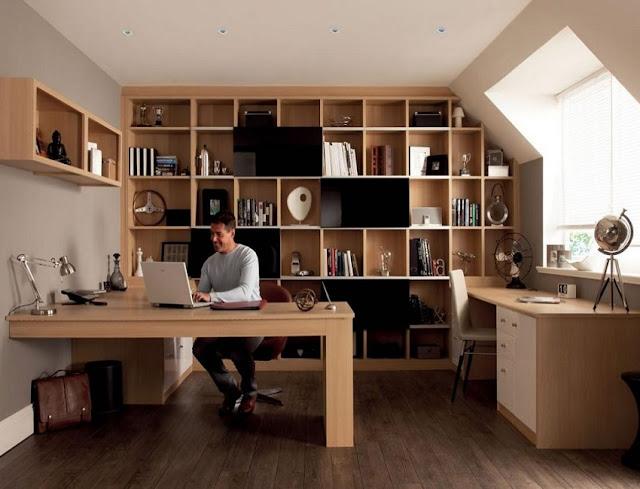 best buy oak custom home office furniture Vero Beach FL with filing cabinet