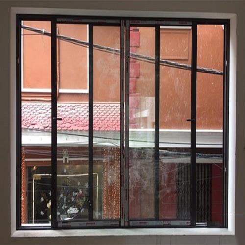 Cửa sổ 4 cánh mở trượt nhôm xingfa