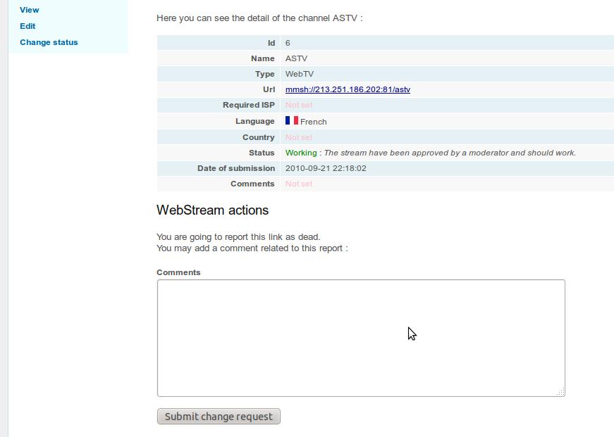 Freetuxtv S Blog Webtv Manager Signaler Qu Un Lien Est Mort