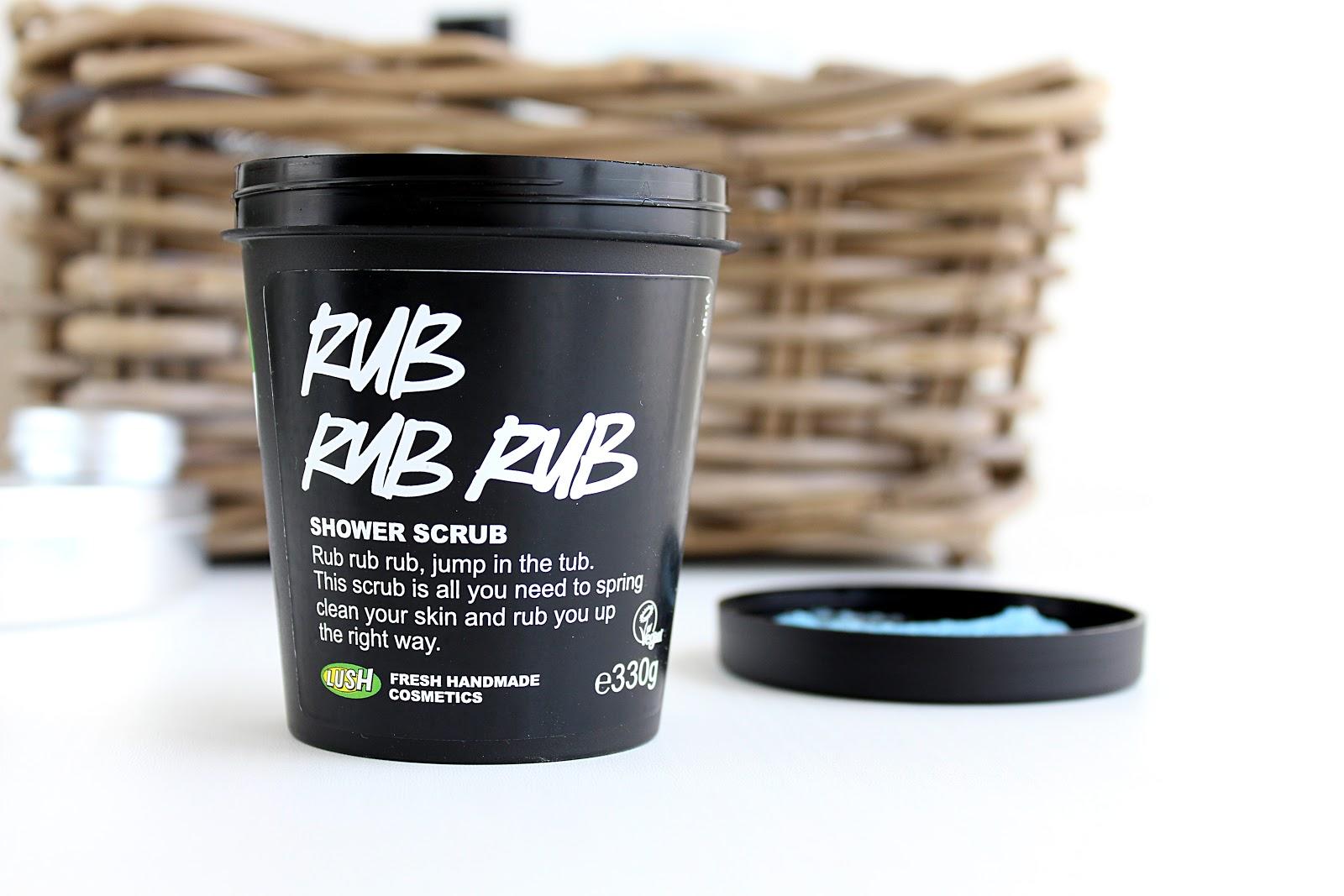 LUSH Rub Rub Rub Body Scrub Review, Life in Excess Blog